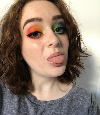Gay Pride makeup