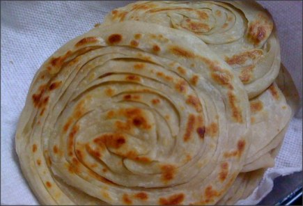 Frozen Paratha Recipe