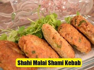 Shahi Malai Shami Kebab Recipe