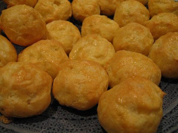 Cheddar Cheese Puffs
