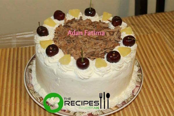 Homemade Fresh Black Forest Cake