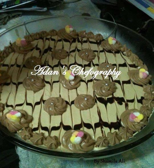 Mocha Whip Caramel Trifle
