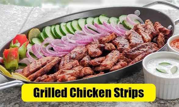 Spicy Grilled Chicken Strips