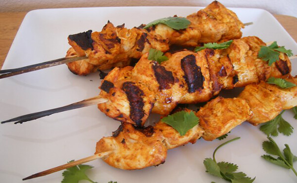 BBQ Chicken Boti by Chef Sara Riaz