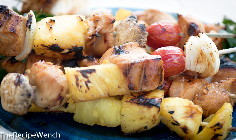 Grilled Marinated Chicken Shish Kabobs