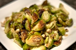Brussels Sprouts With Hazelnut Butter