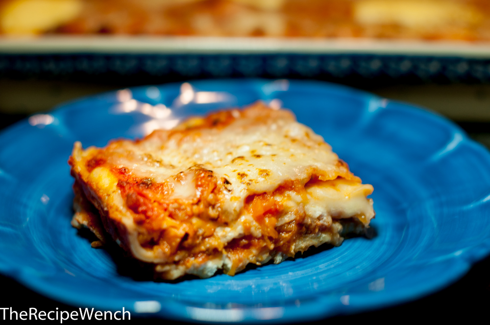 Roasted Pumpkin and Sausage Lasagna