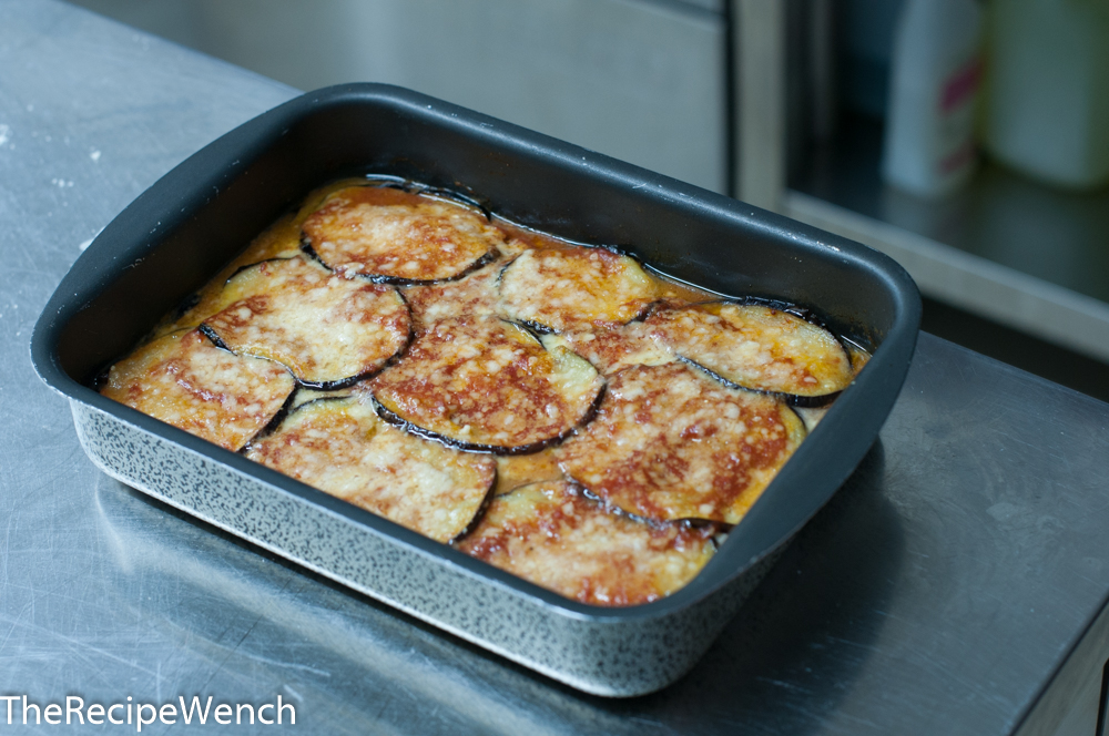 Eggplant Parmesan Out of Oven