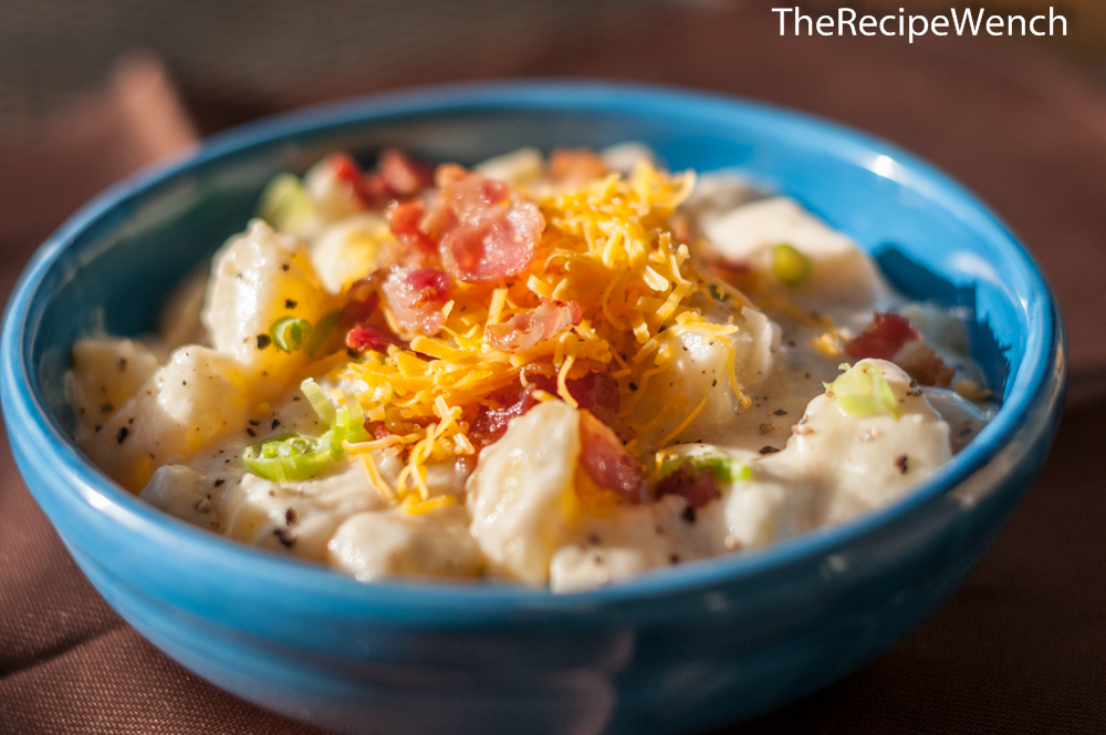 Loaded Potato Soup is quick and simple. An great option for busy weeknights.