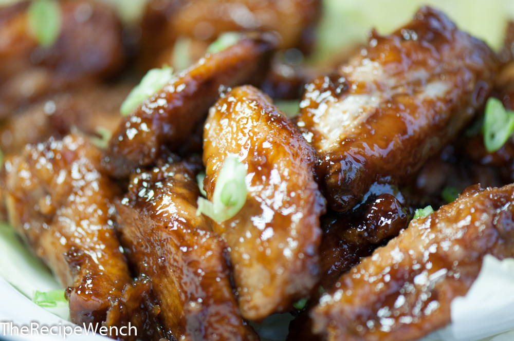 Chicken Wings With Asian Flair