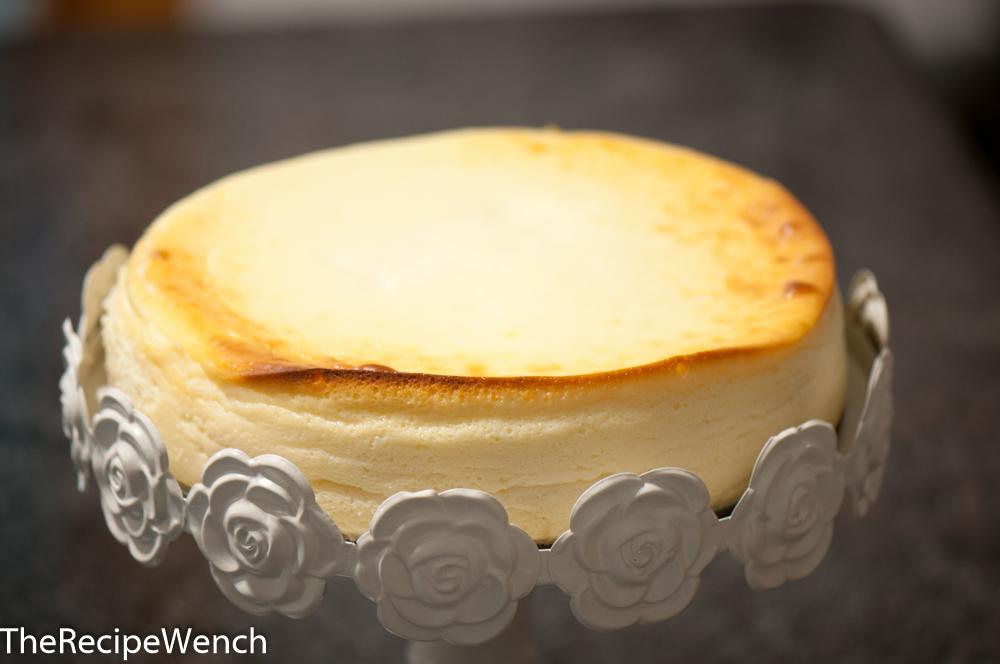 Fluffy, Crustless Cheesecake