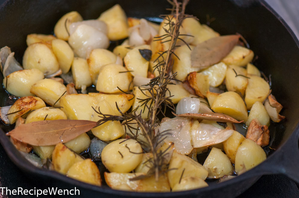 The Recipe Wench Roasted Potatoes