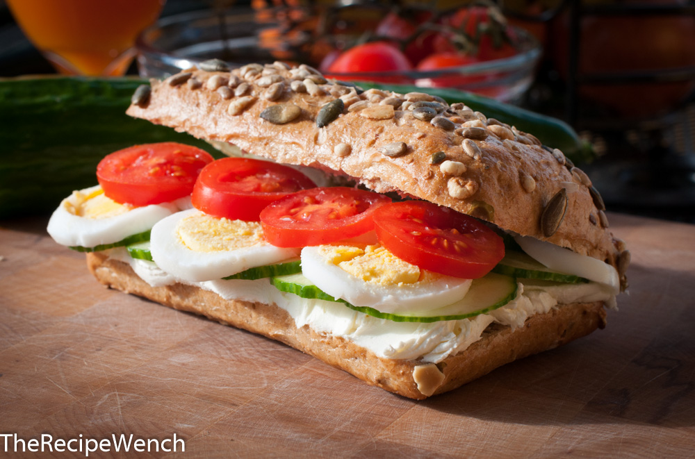 healthy breakfast sandwich the recipe wench