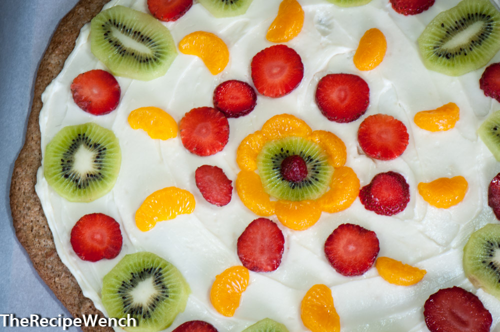 Fruit Pizza with Whole Wheat Base