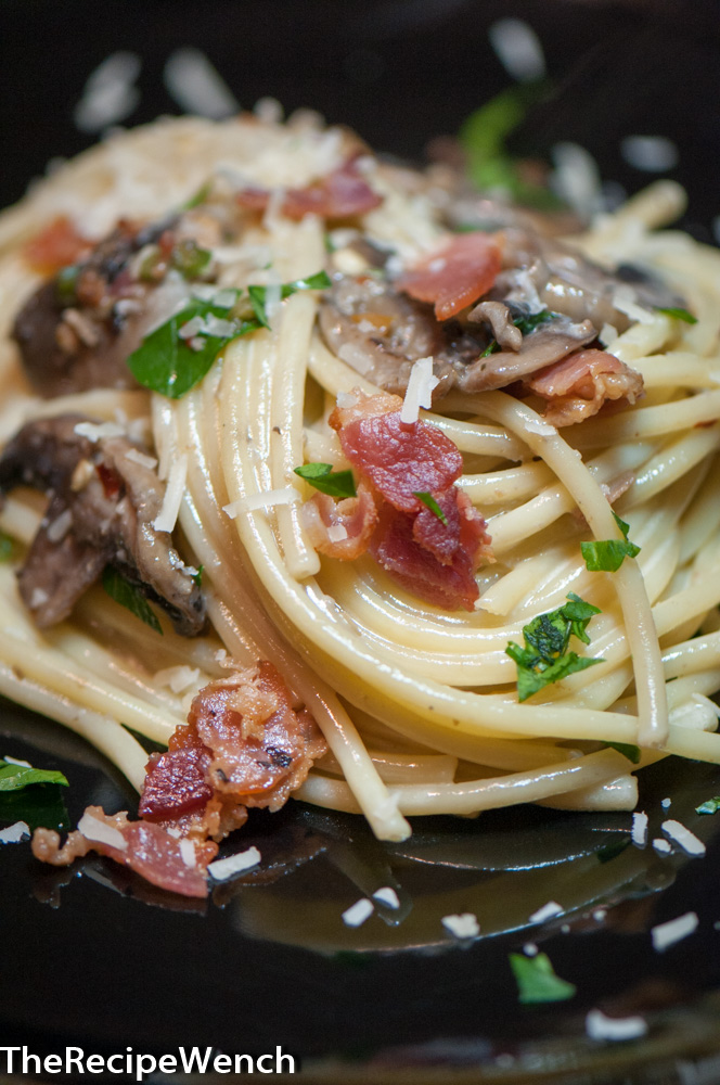 Bacon Mushroom Carbonara
