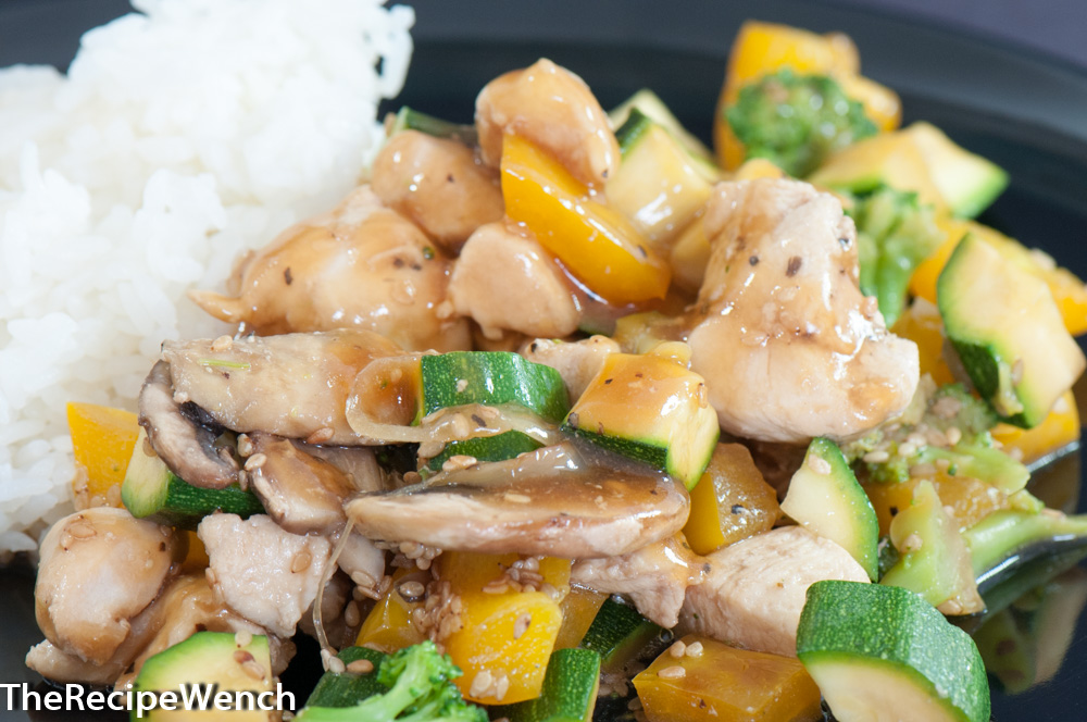 Chicken Stir Fry -- Happiness in a Skillet!