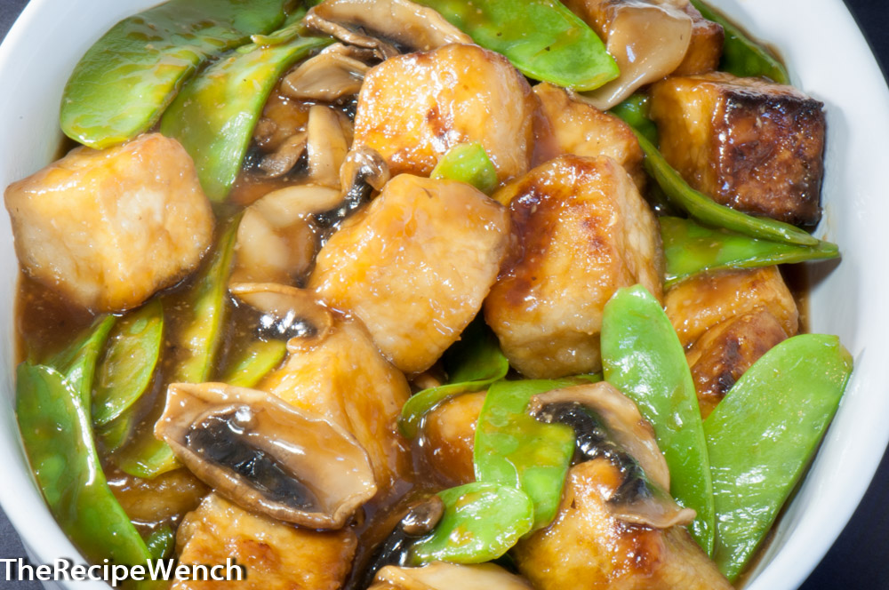 Tofu Stir Fry With Mushrooms