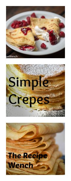 Simple crepe recipe