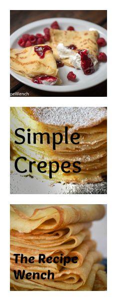 Simple crepe recipe