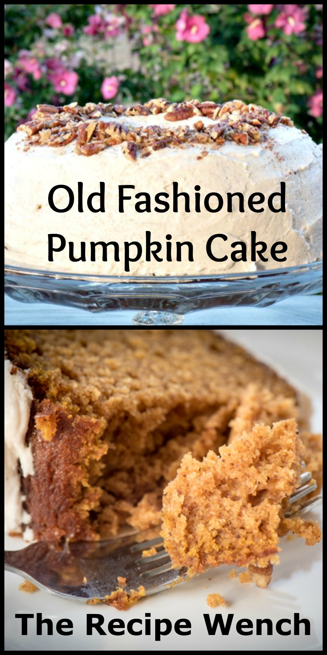 Buttermilk gives this pumpkin cake a great texture. Baked in a bundt pan, it's easy and beautiful! | The Recipe Wench