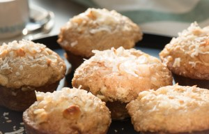 Coconut Macadamia Nut Muffins