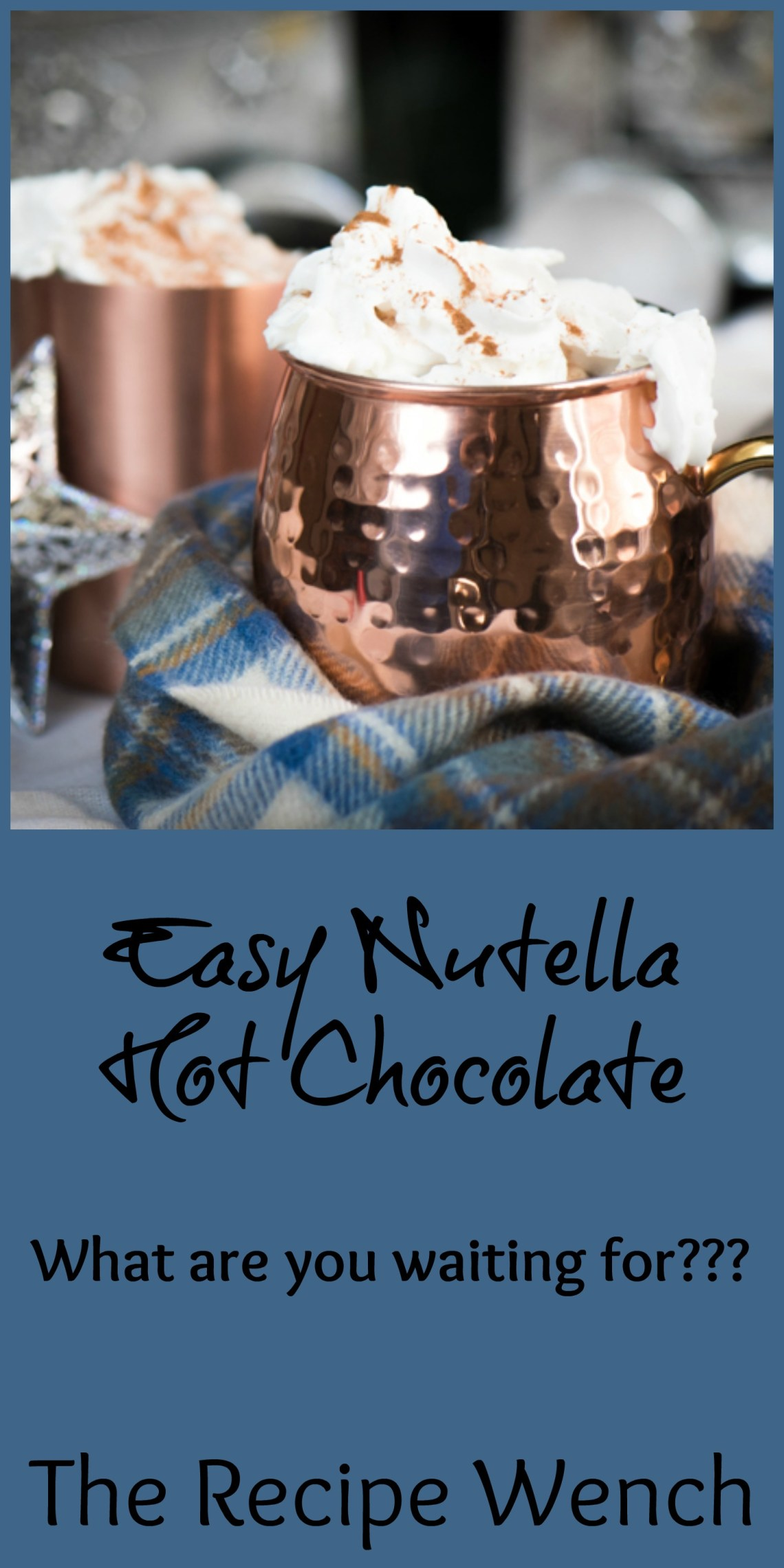 Nutella Hot Chocolate - The Recipe Wench