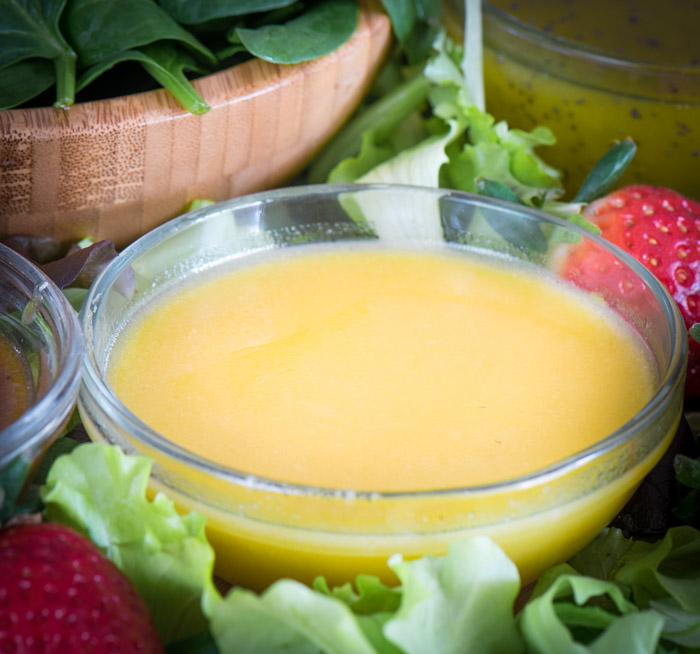 Lemon Honey Ginger Dressing