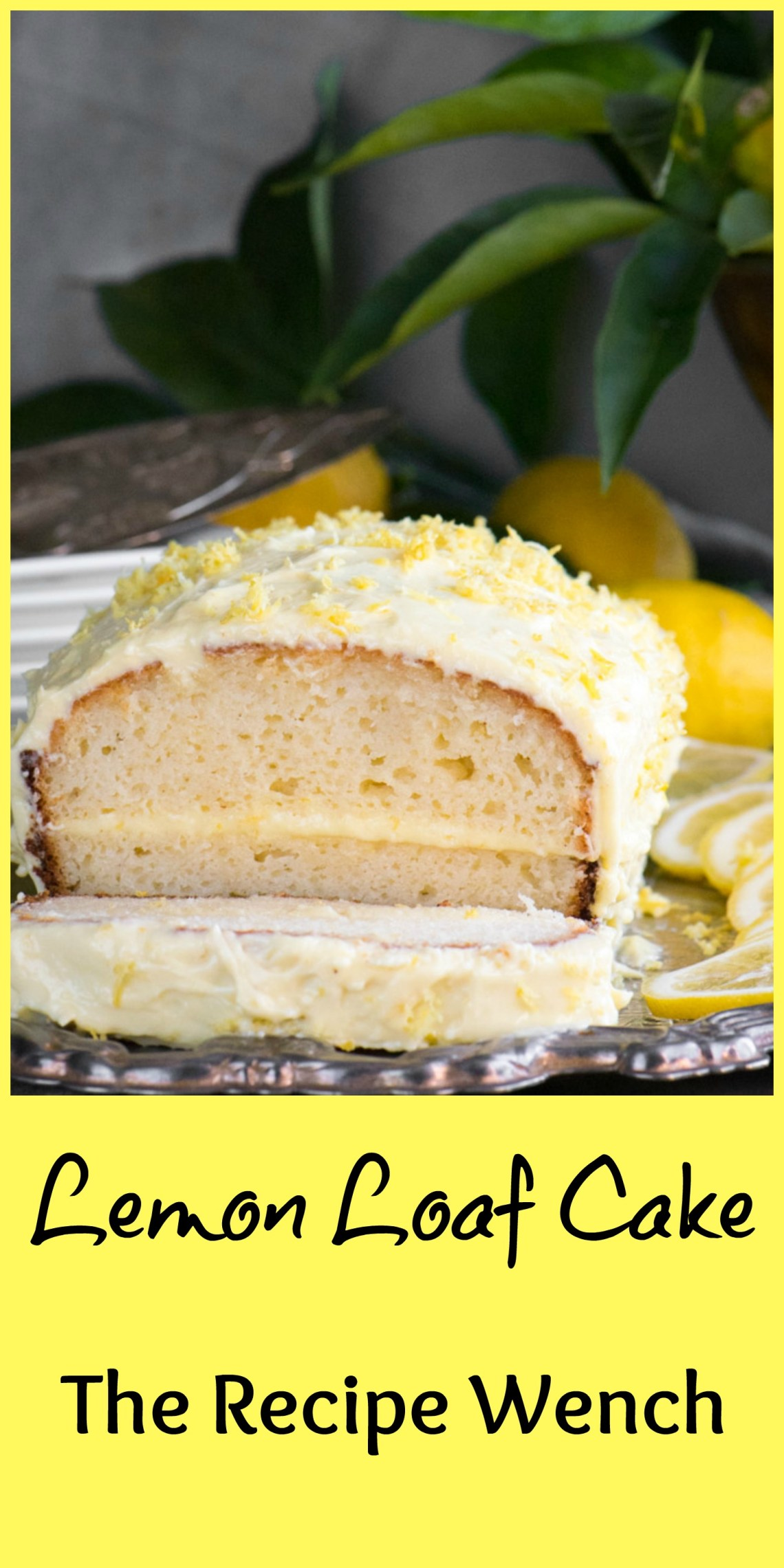 Lemon Loaf Cake PM