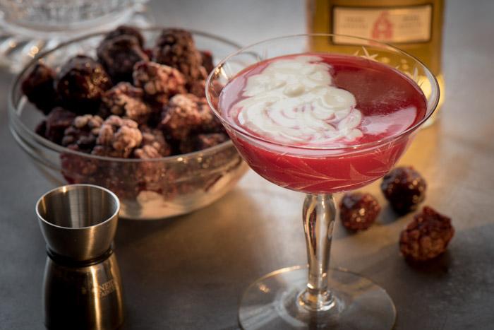 The Irish Blackberry Cocktail