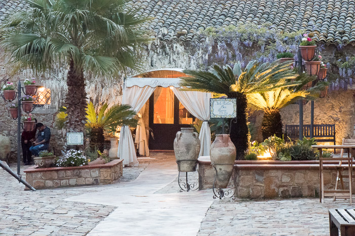 The agriturismo we stayed at in Caltagirone Sicily