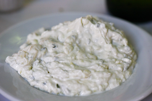 Tzatziki - authentic and delicious