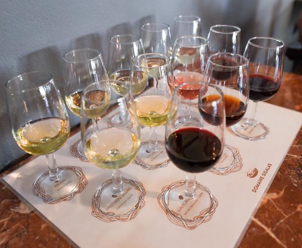 Greece and Santorini - Sigalas Winery