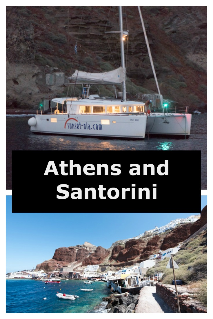 The Recipe Wench is on tour in Athens and Santorini Here are the highlights!