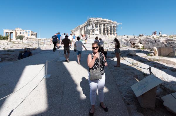 Greece Santorini Acropolis