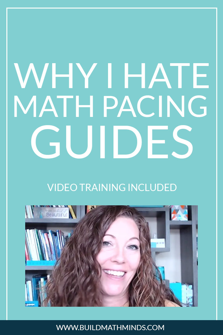 Why I Hate Math Pacing Guides - The Recovering Traditionalist