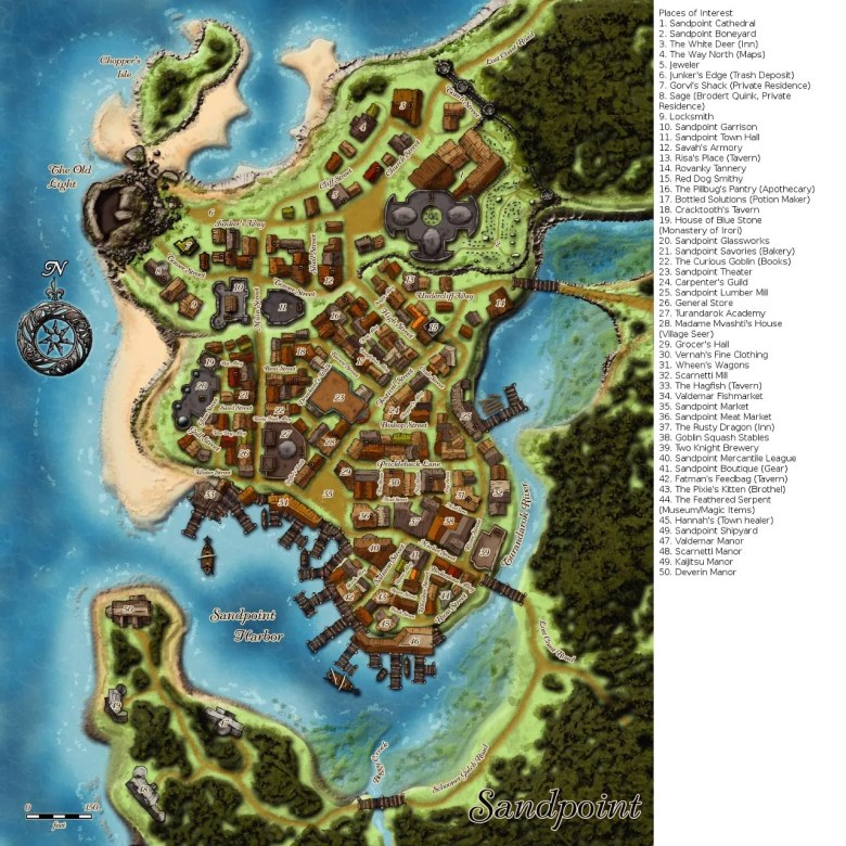 Sandpoint_map