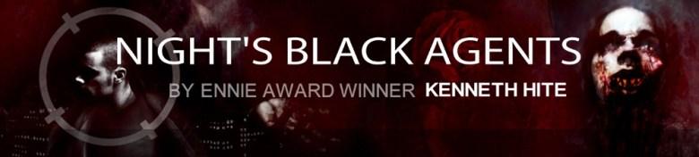 Nights Black Agents Written by Ennie Award Winner Kenneth Hite