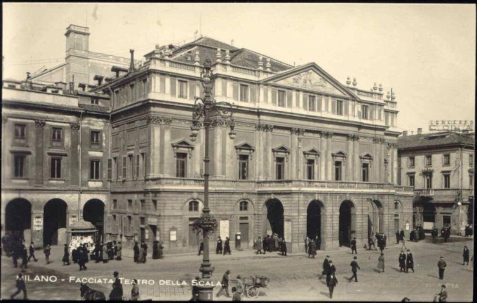 1920s picture of La Scala