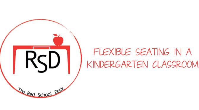 Flexible Seating in a Kindergarten Classroom