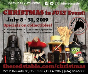 Christmas in July Nutcracker Sale @ The Red Stable | Columbus | Ohio | United States