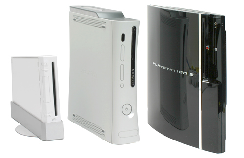 Current Gen Consoles Playstation 3 Xbox360 Wii