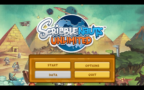 Scribblenauts Unlimited Screenshot Wallpaper Title Screen