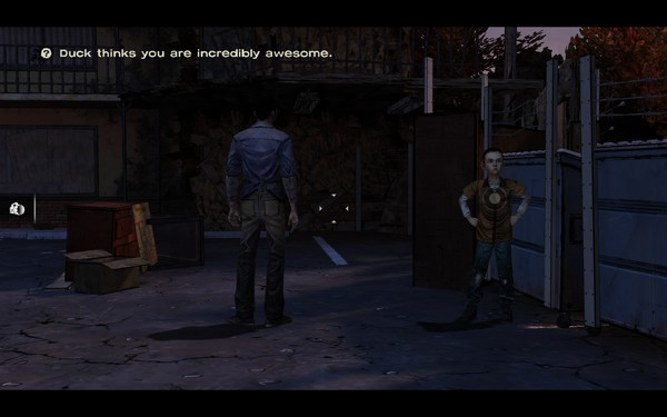 The Walking Dead Screenshot Wallpaper Duck Thinks Youre Incredibly Awesome