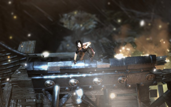 Tomb Raider 2013 Screenshot Wallpaper Shits Gettin Real
