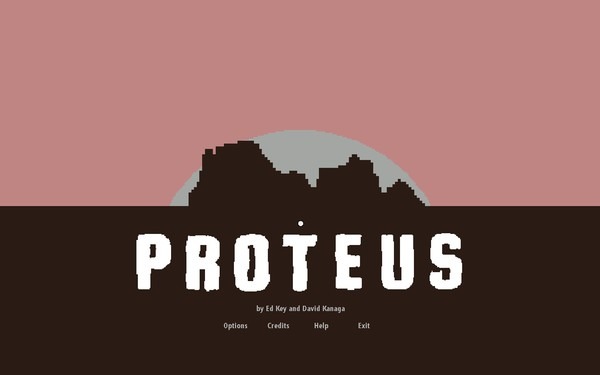 Proteus Screenshot Wallpaper Title Screen