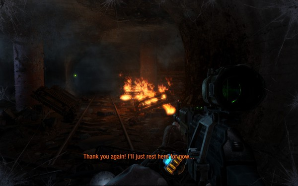 Metro Last Light Screenshot Wallpaper Combat