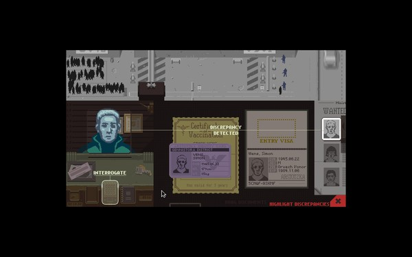 Papers Please Screenshot Wallpaper Discrepancy Detected
