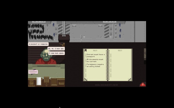 Papers Please Screenshot Wallpaper Your Old Friend