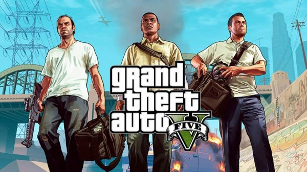 Grand Theft Auto V Screenshot Wallpaper Title Screen