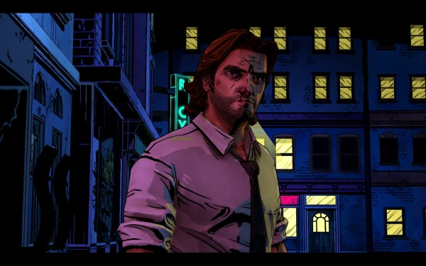 The Wolf Among Us Screenshot Wallpaper Bigby Wolf